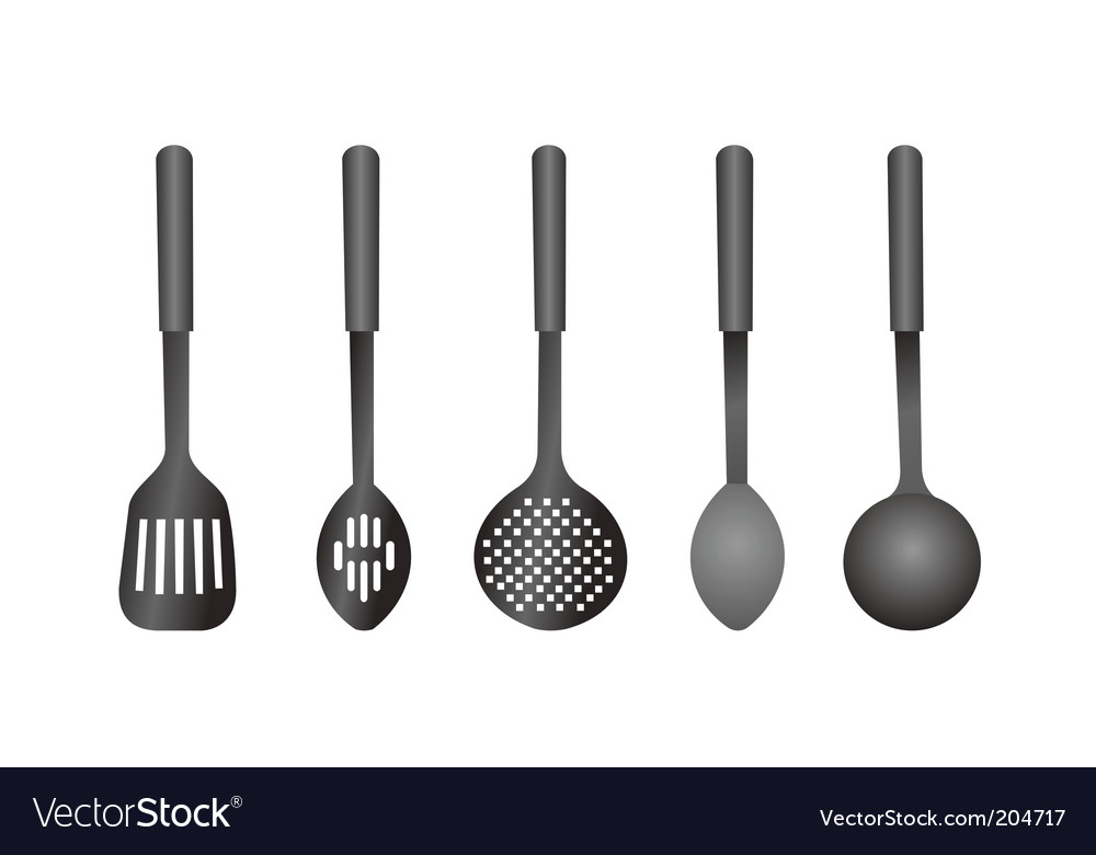 Kitchen ware vector