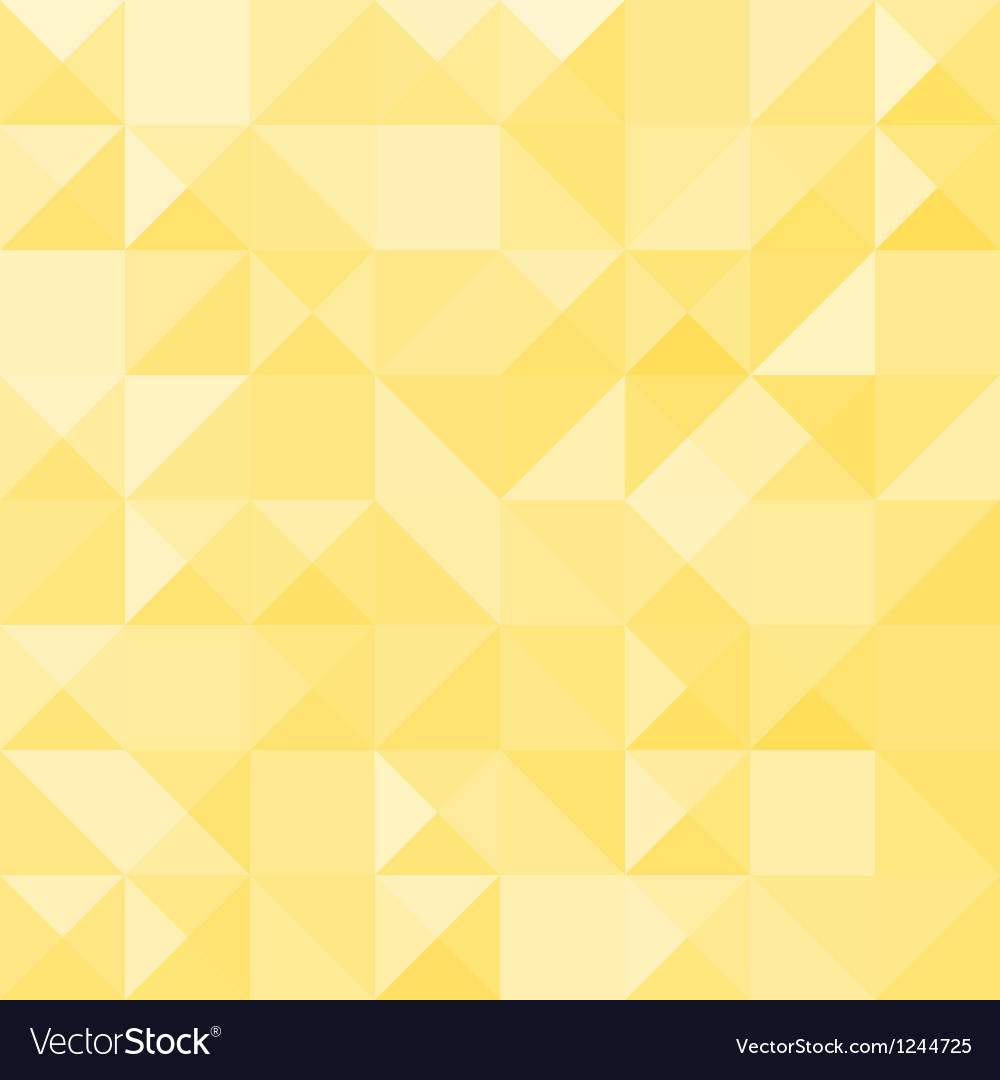 Abstract yellow background vector