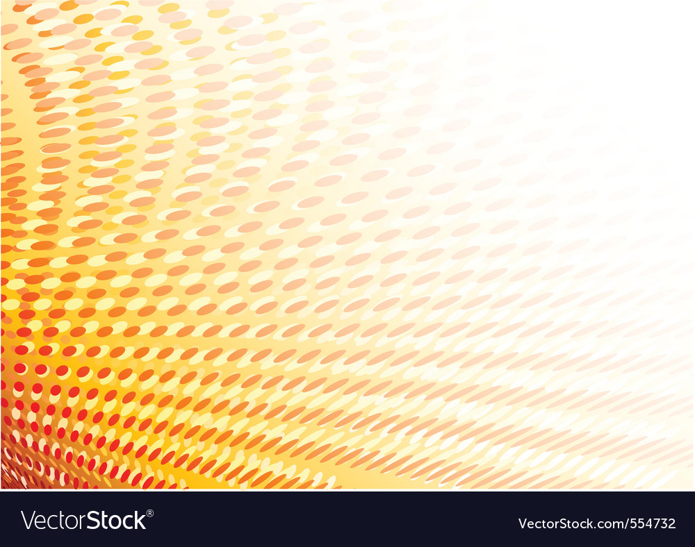 Graphic of dots in orange color vector