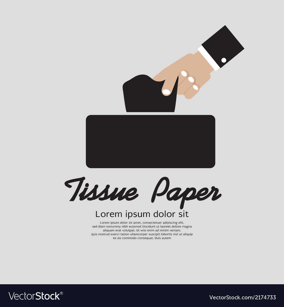 Tissue paper vector