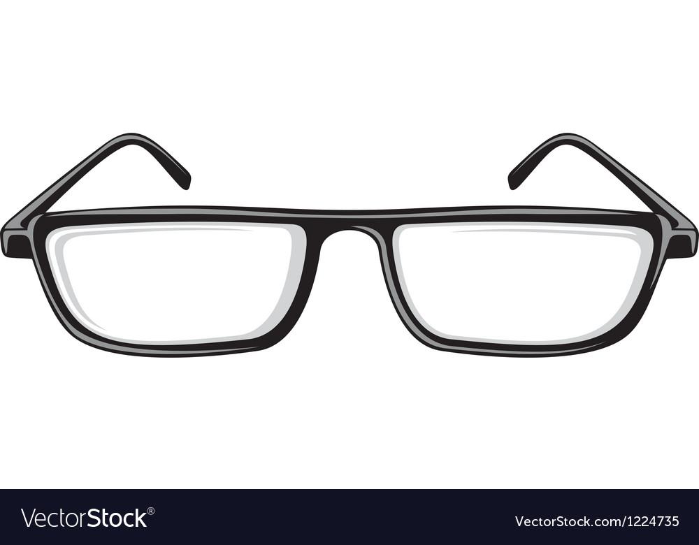 Reading glasses vector