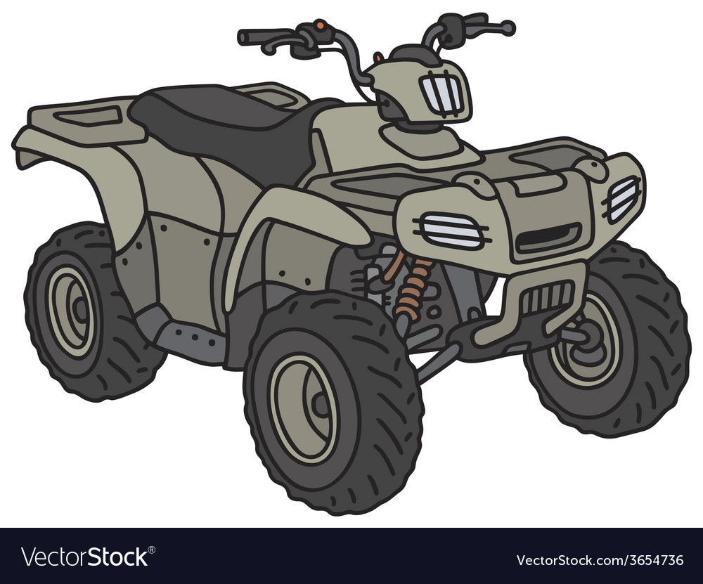 All-terrain buggy vector