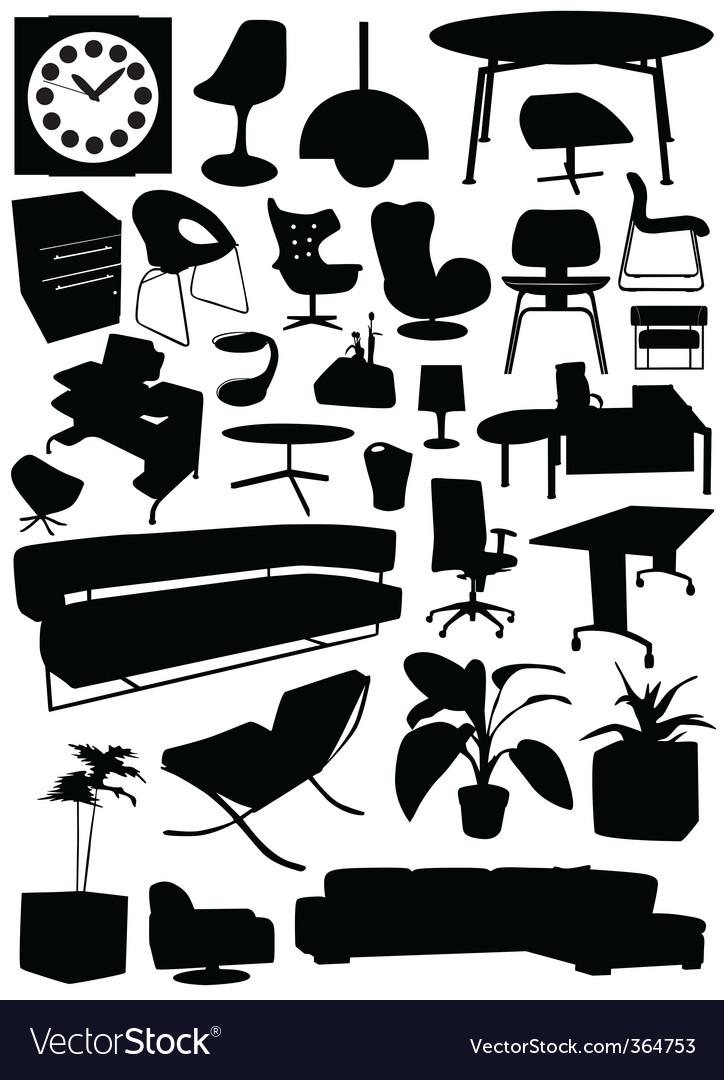 Business office design vector
