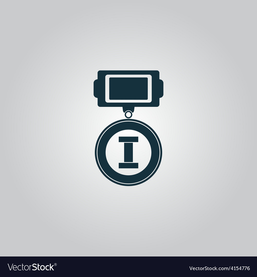 First place icon vector