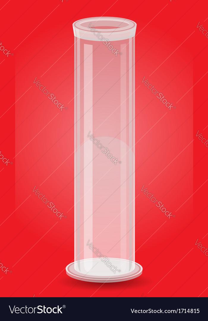 Glass tube 04 vector