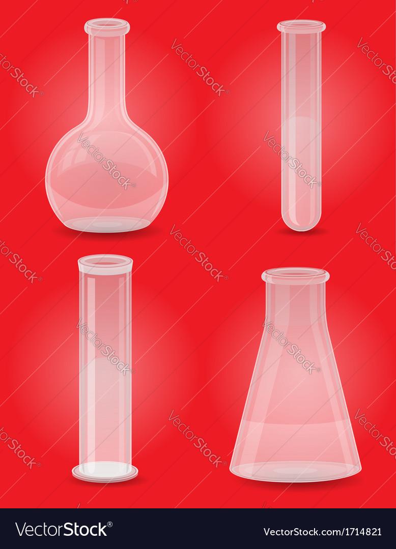 Glass tube 05 vector