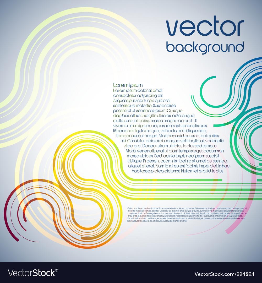 Digital wave documents vector