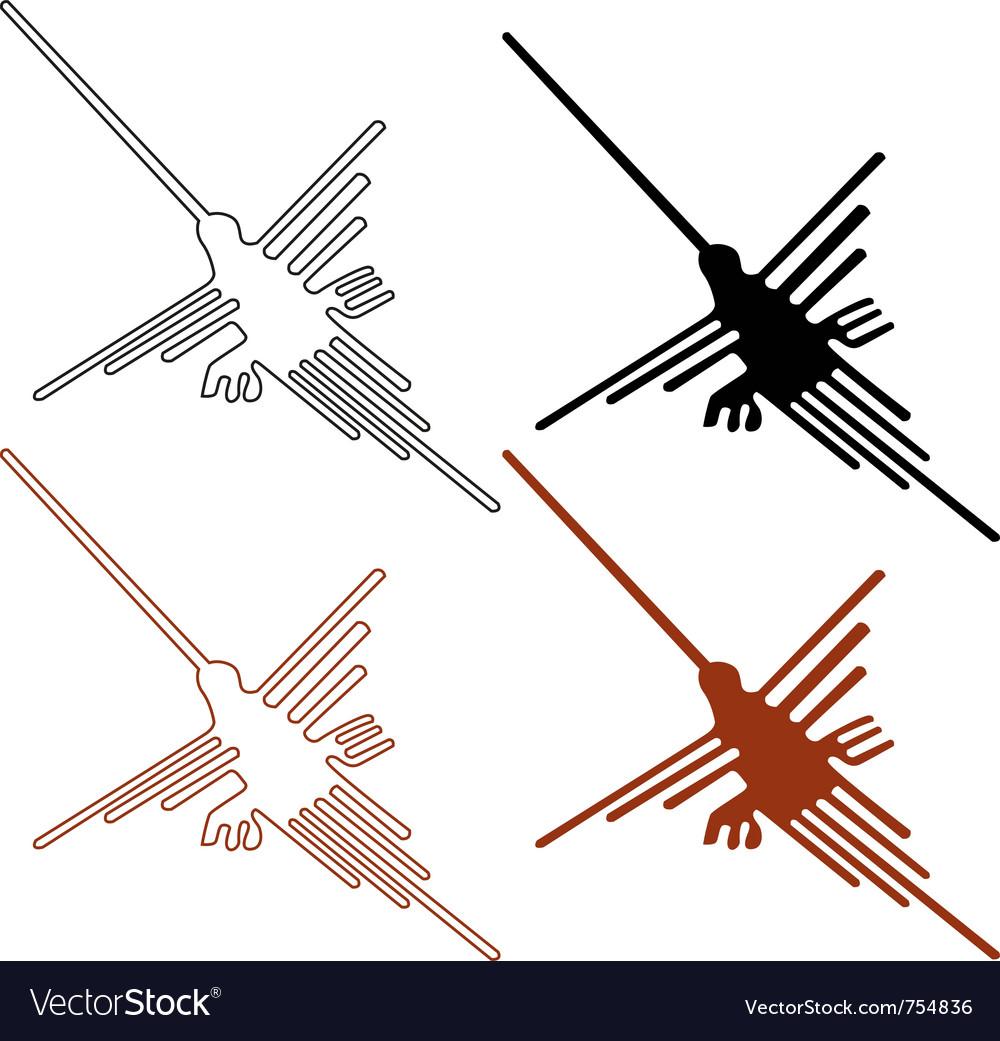 Nazca lines set - vector