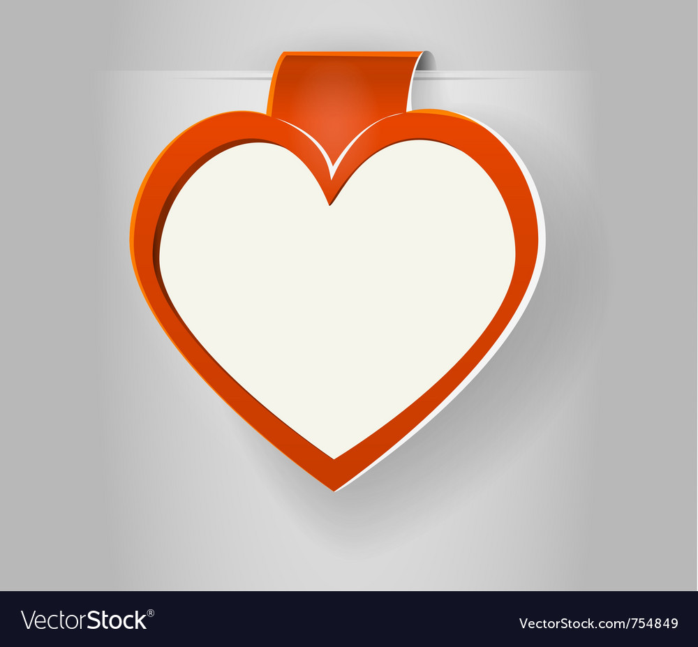 Valentines copy space vector