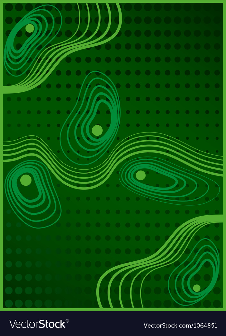 Abstract composition 8 vector