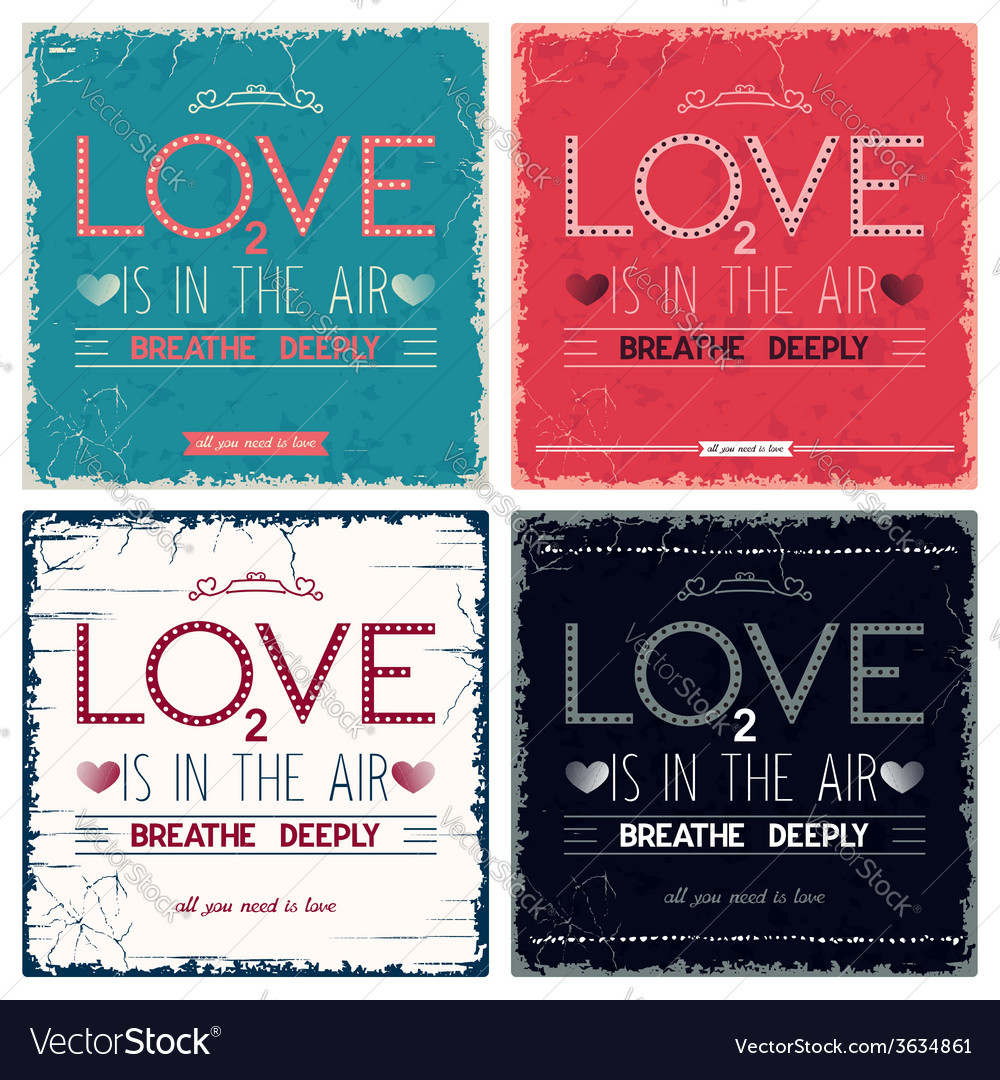 Vintage quote lettering design vector