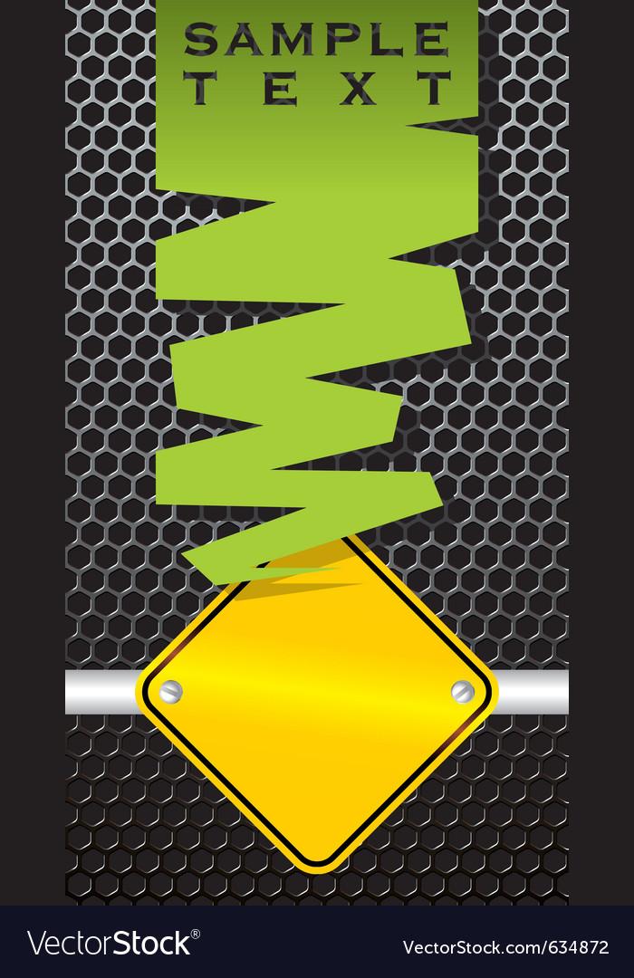 Industrial sign vector
