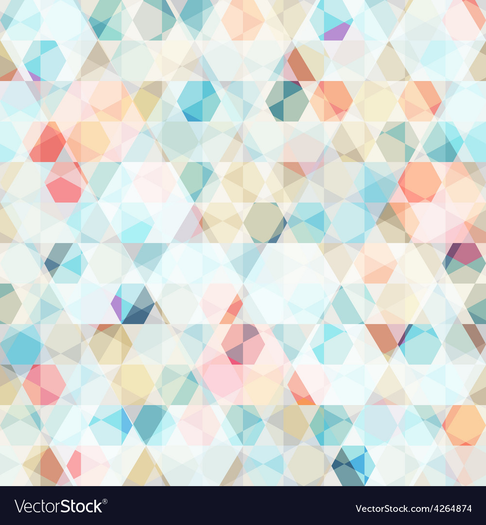 Cell diamond seamless pattern vector