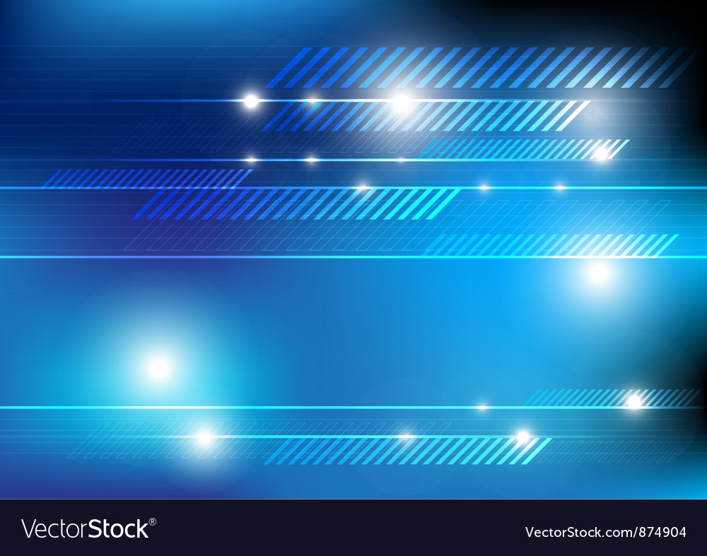 Glowing background with line vector