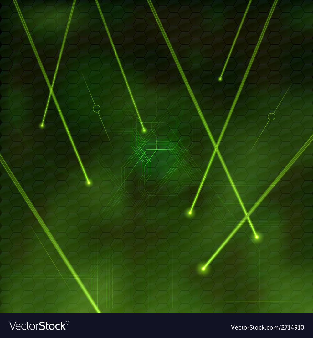 Laser green vector