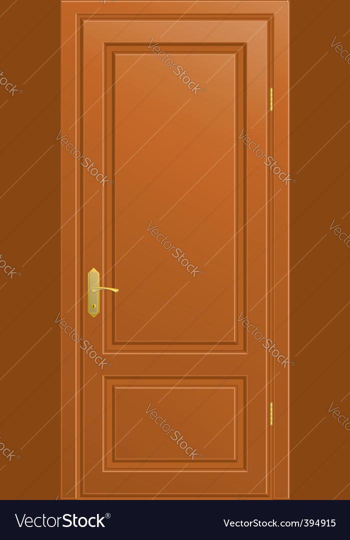 Front door vector