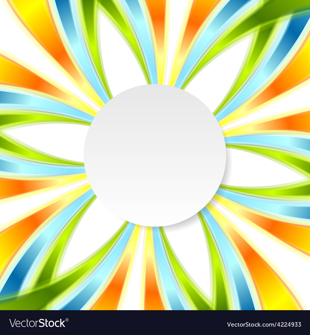 Shiny colorful background vector