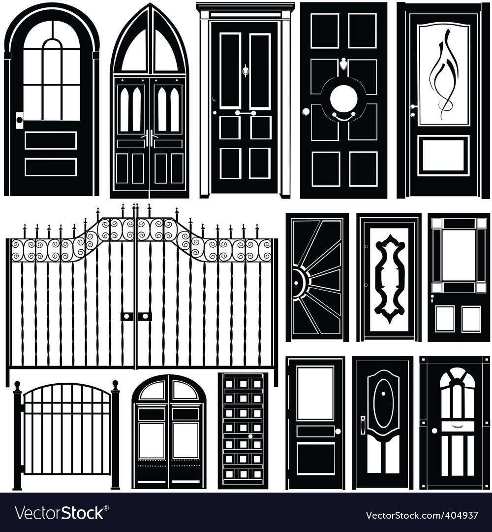 Door design vector