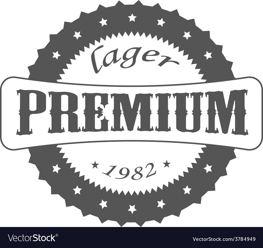 Beer lager vector
