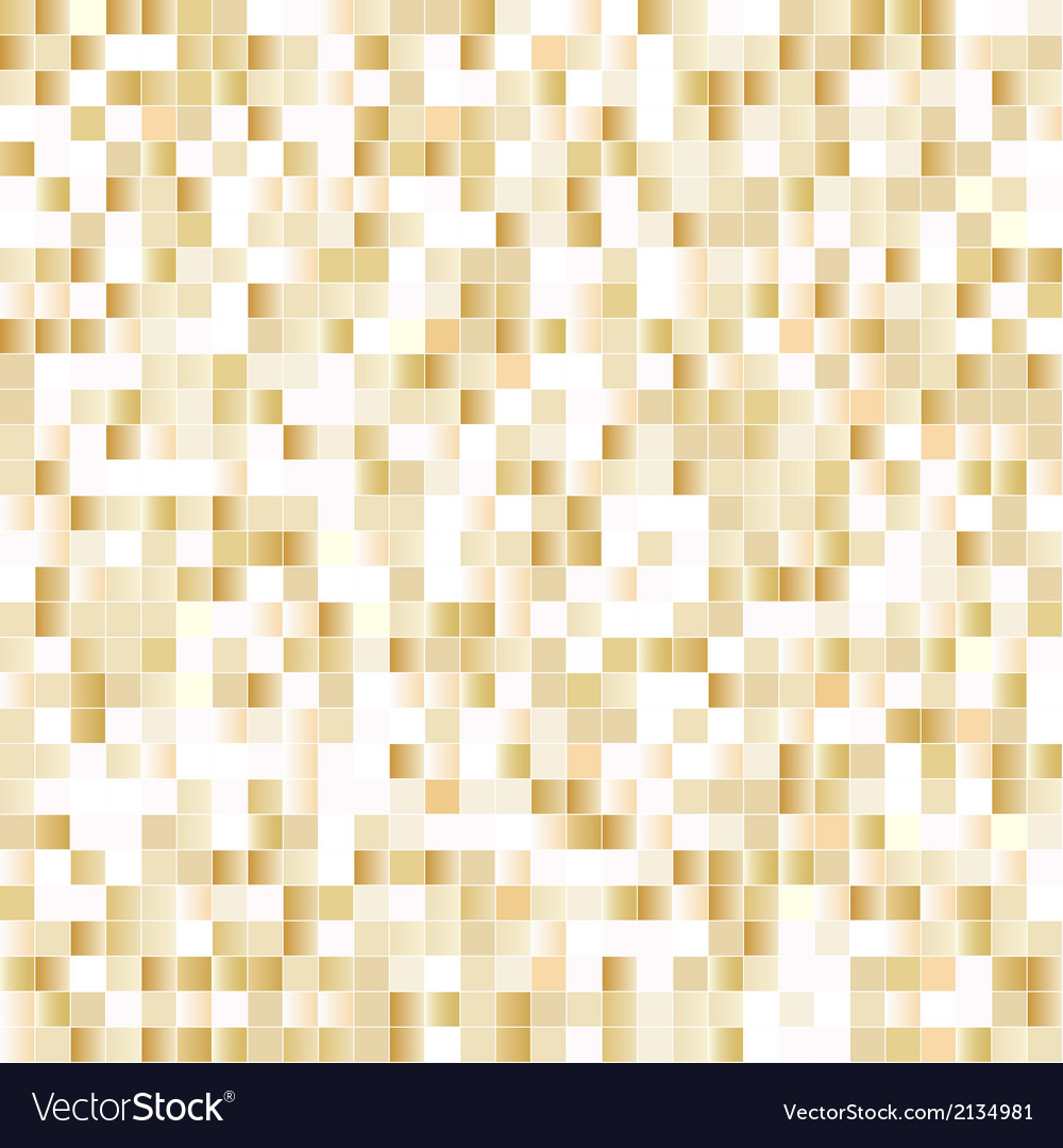 Seamless background with shiny pixels vector