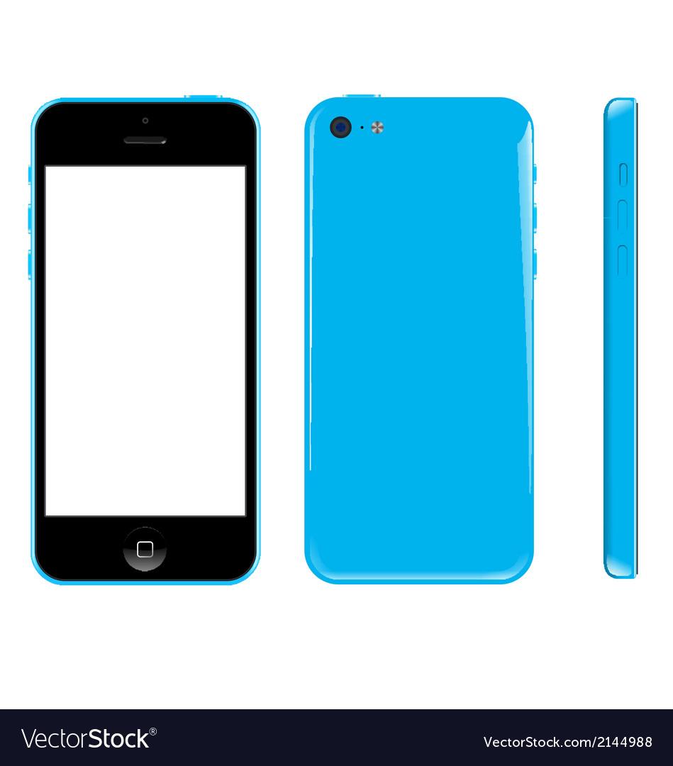 Smart phone graphic vector