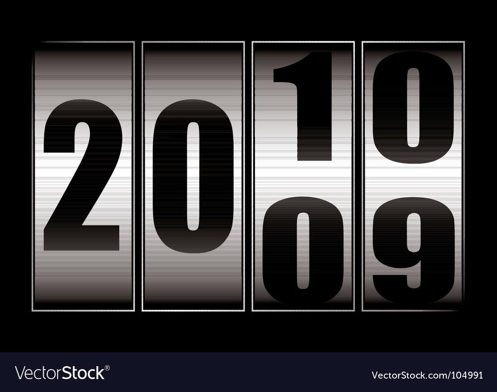 Date change vector