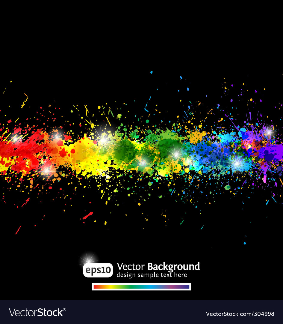 Colorful gradient background vector