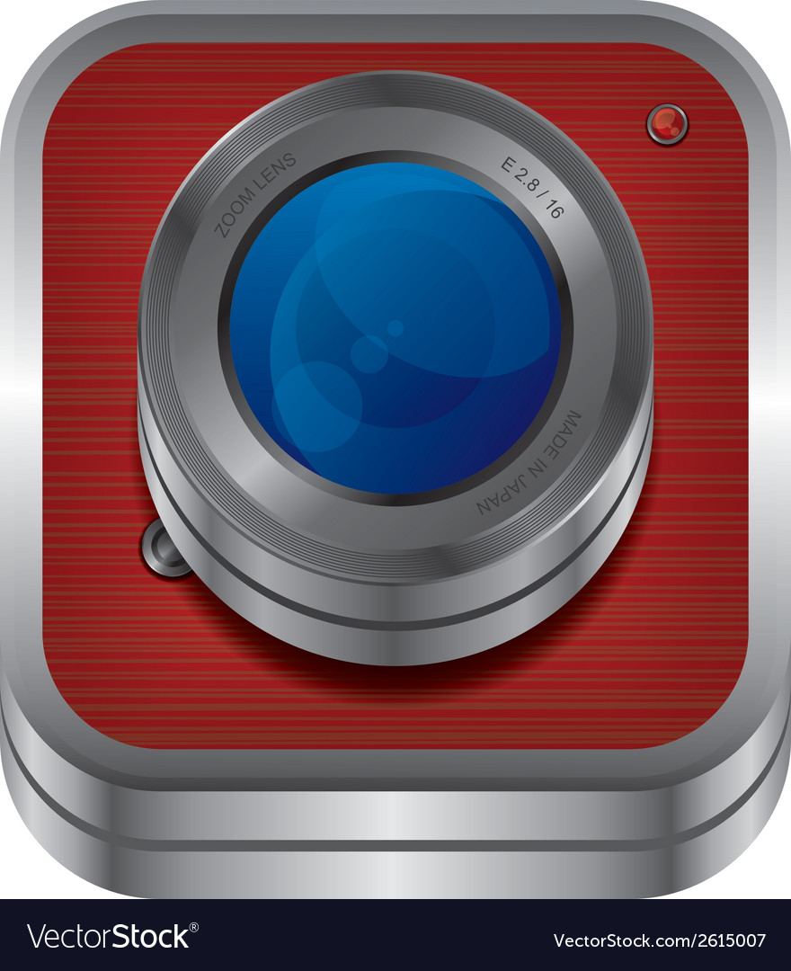 Webcam design vector