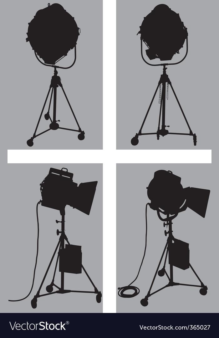 Lighting equipment vector