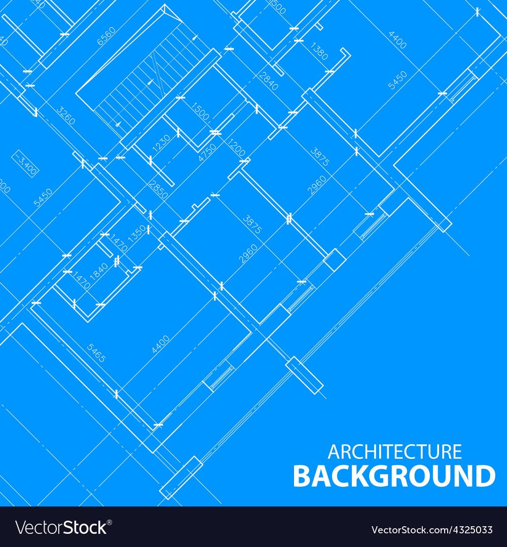 Blueprint best architecture plan vector