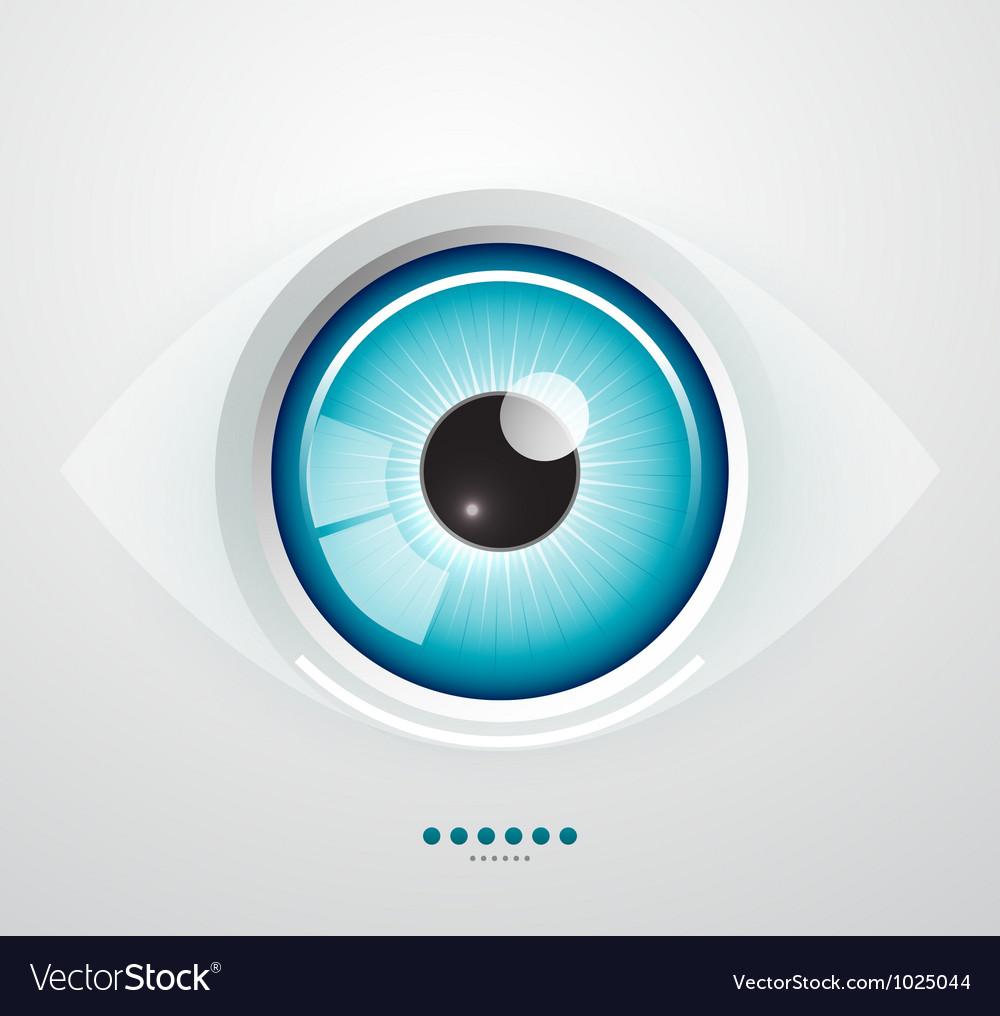 Eye background vector