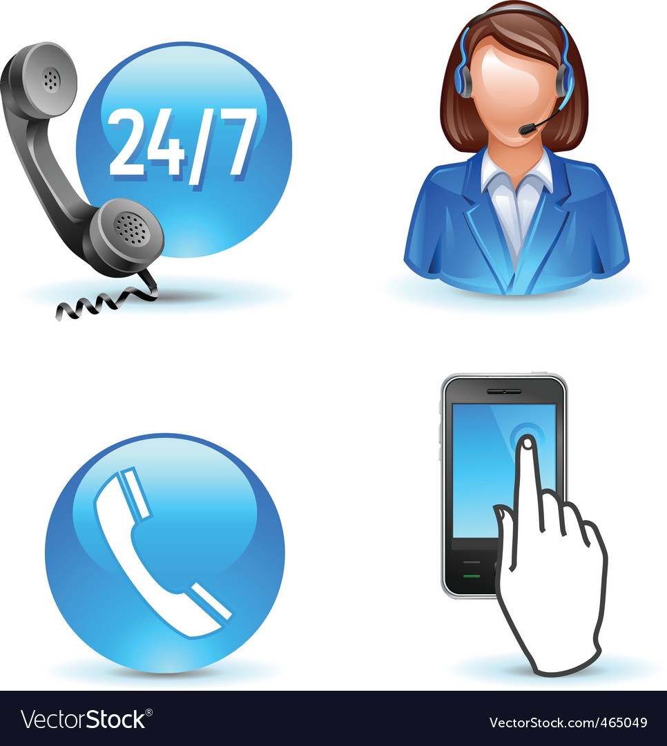 Customer service support vector