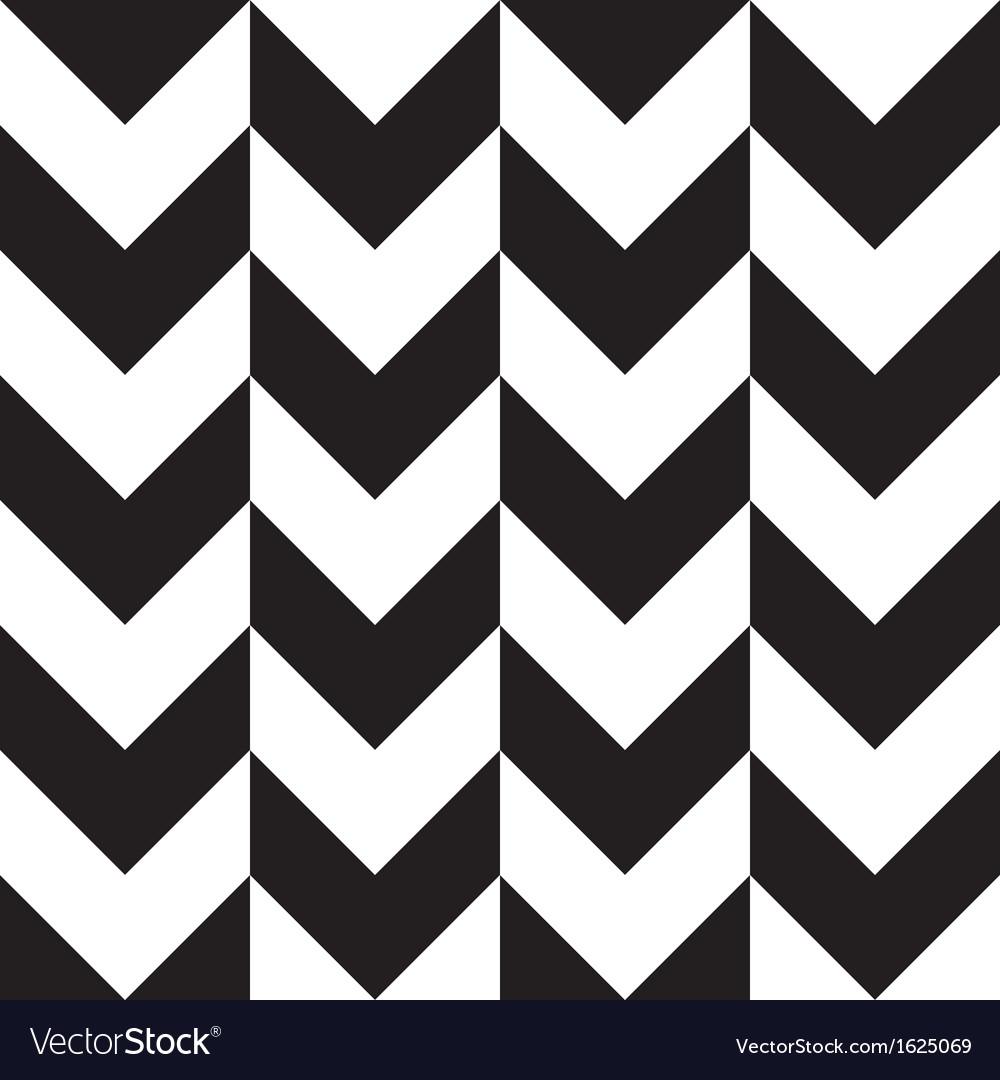 Big chevron background black white vector