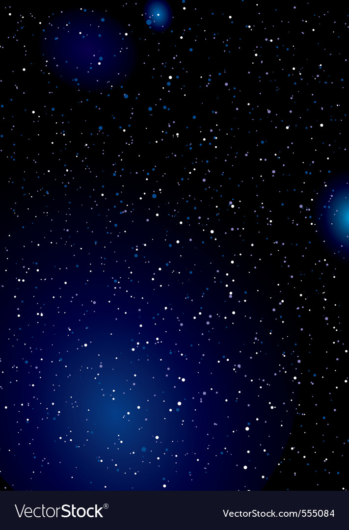 Stella space background vector