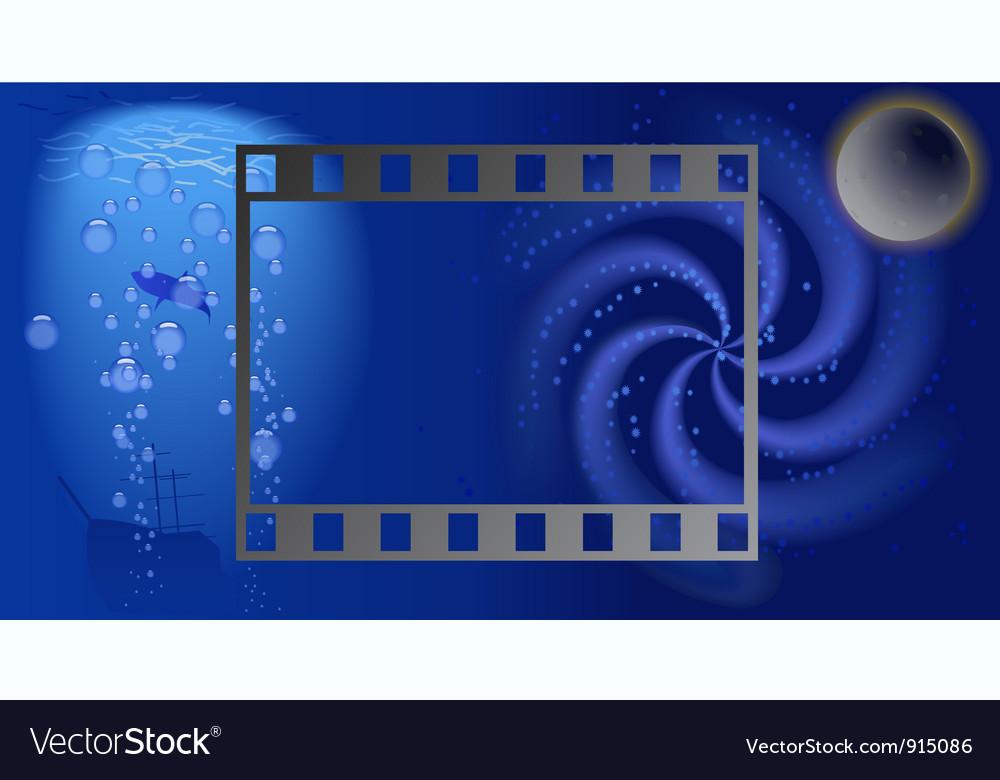 Film land vector