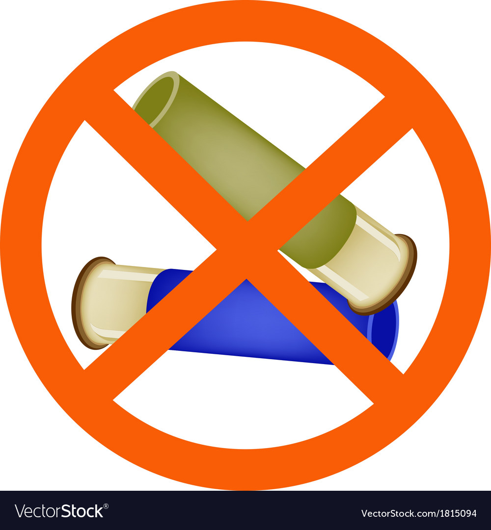Two bullets and the forbidden sign vector