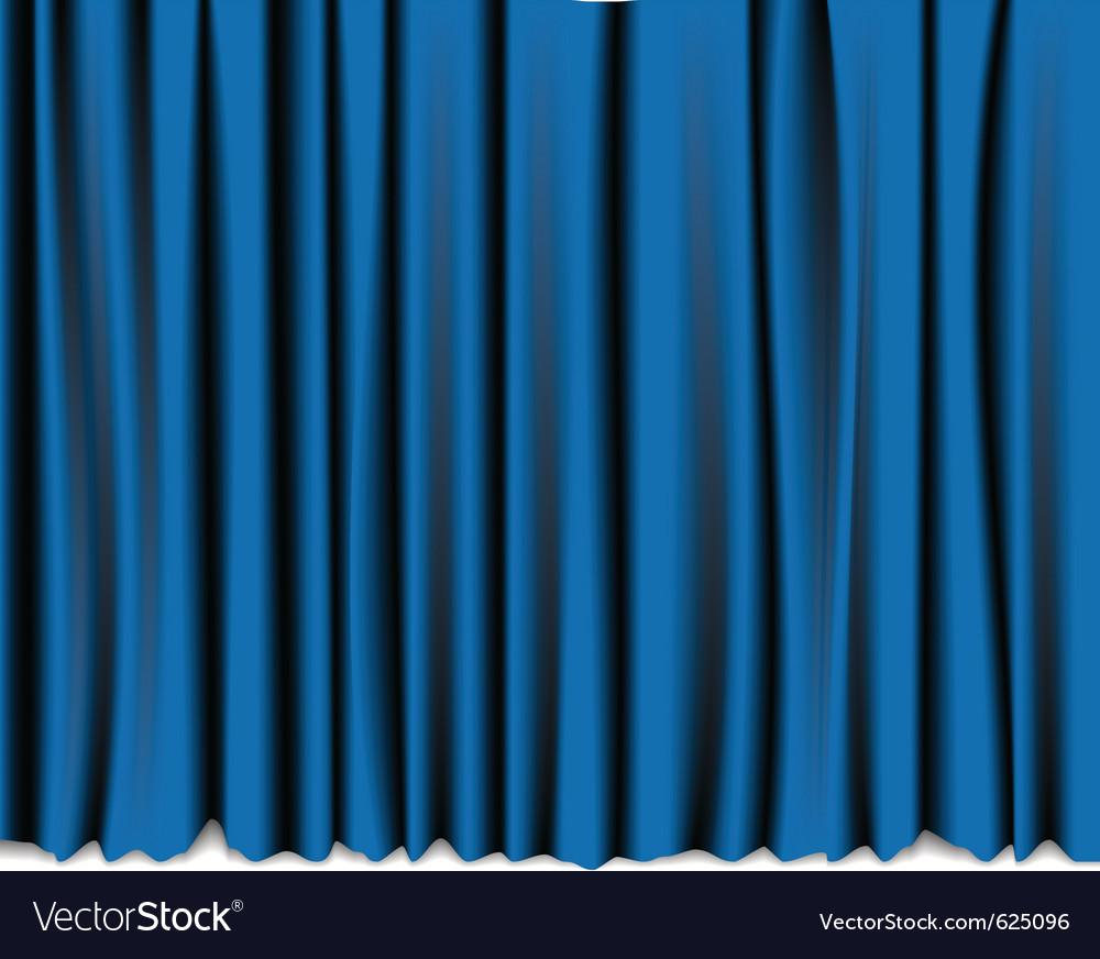 Curtain theatre vector