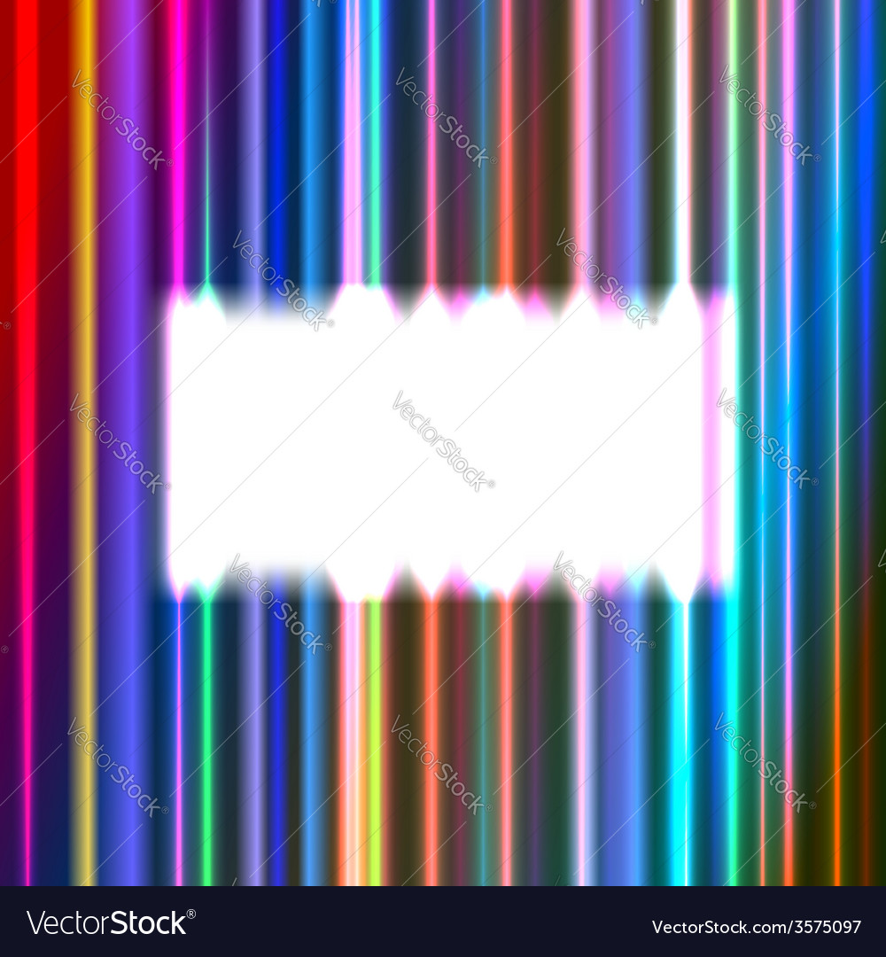 White rectangular frame vector