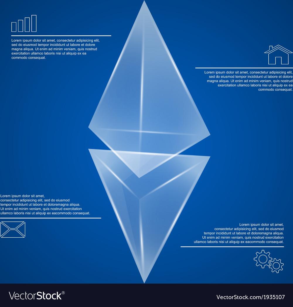 Pyramids infographic 2 vector
