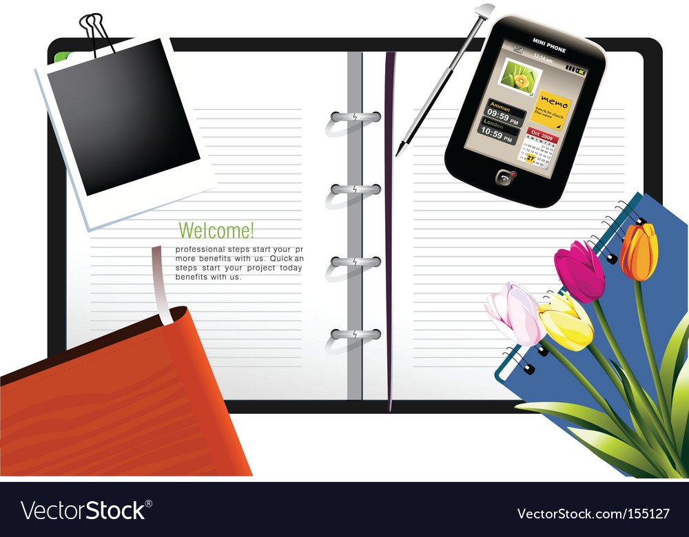 Student life vector