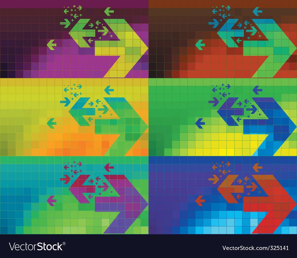 Digital display vector