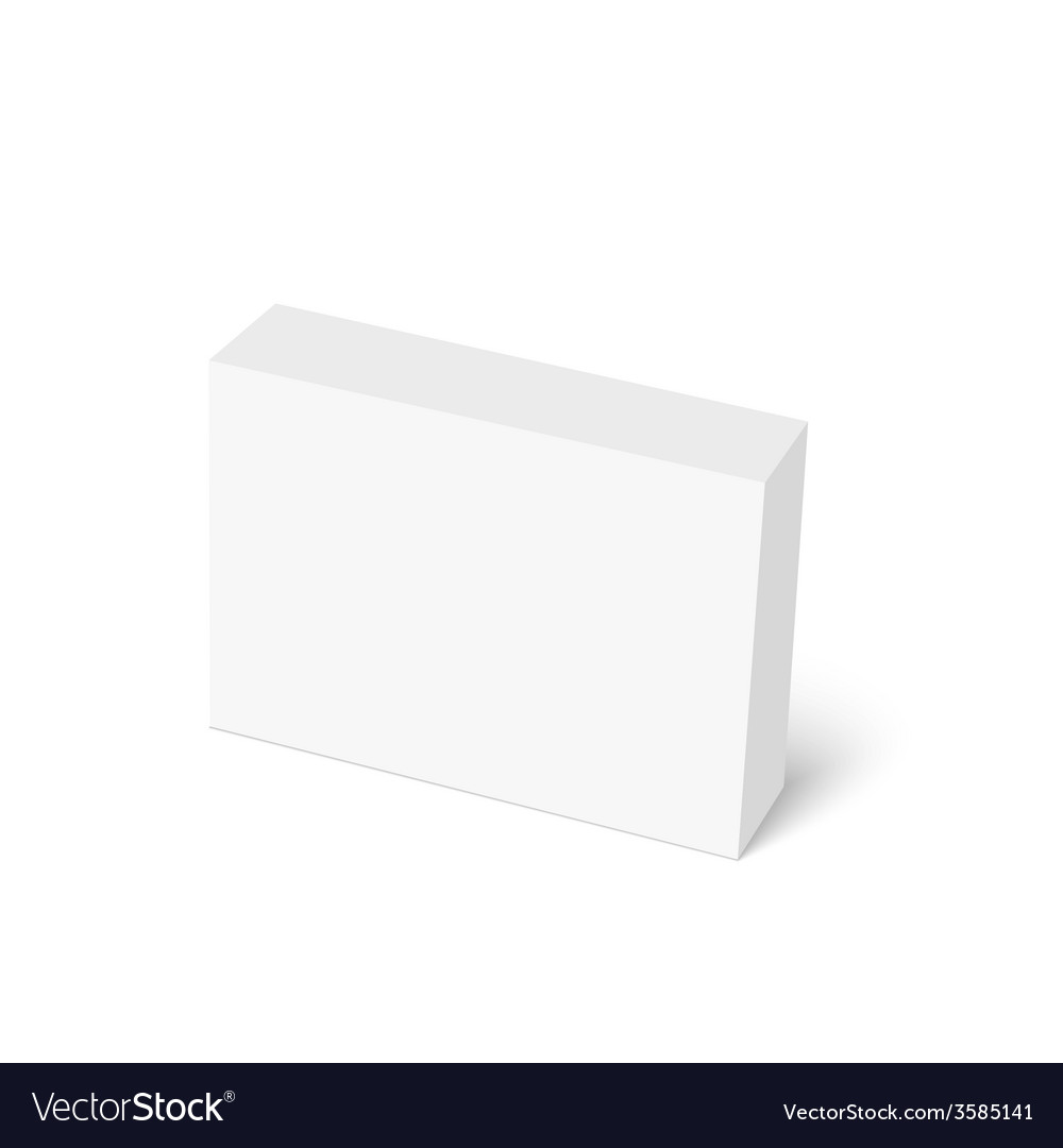 Package white box vector