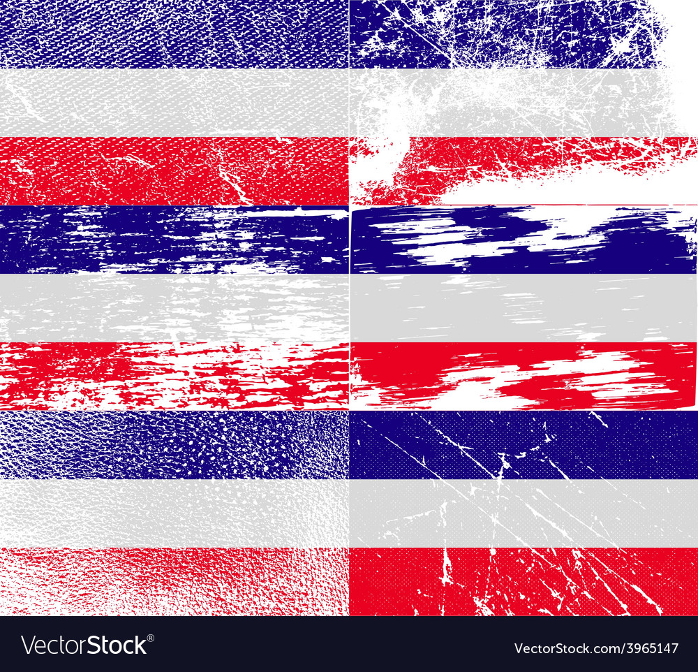 Flag of los altos with old texture vector