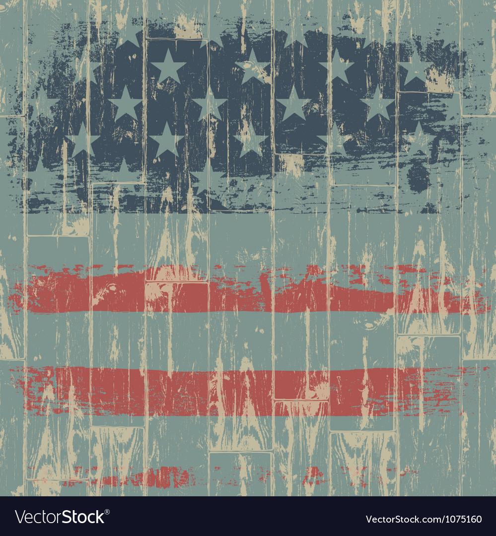 Usa flag themed background vector