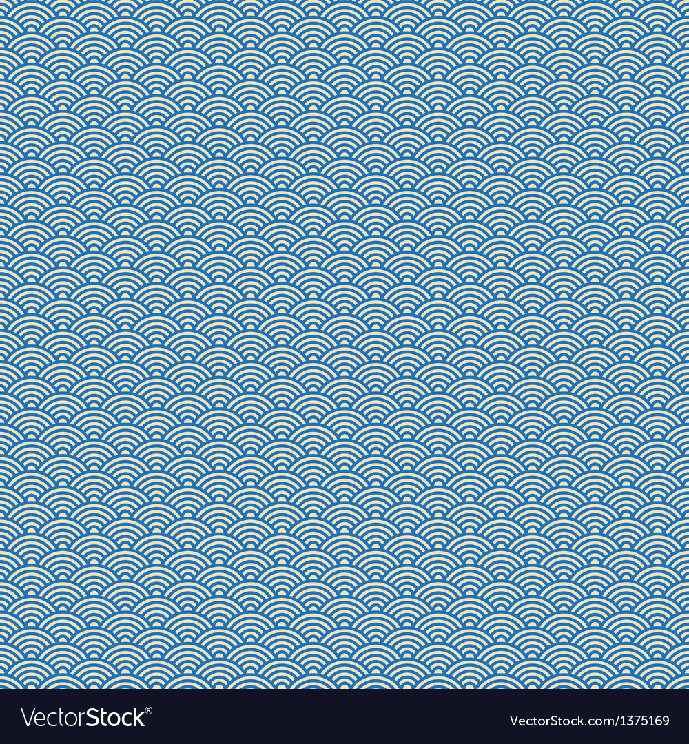 Japanese pattern seamless vector