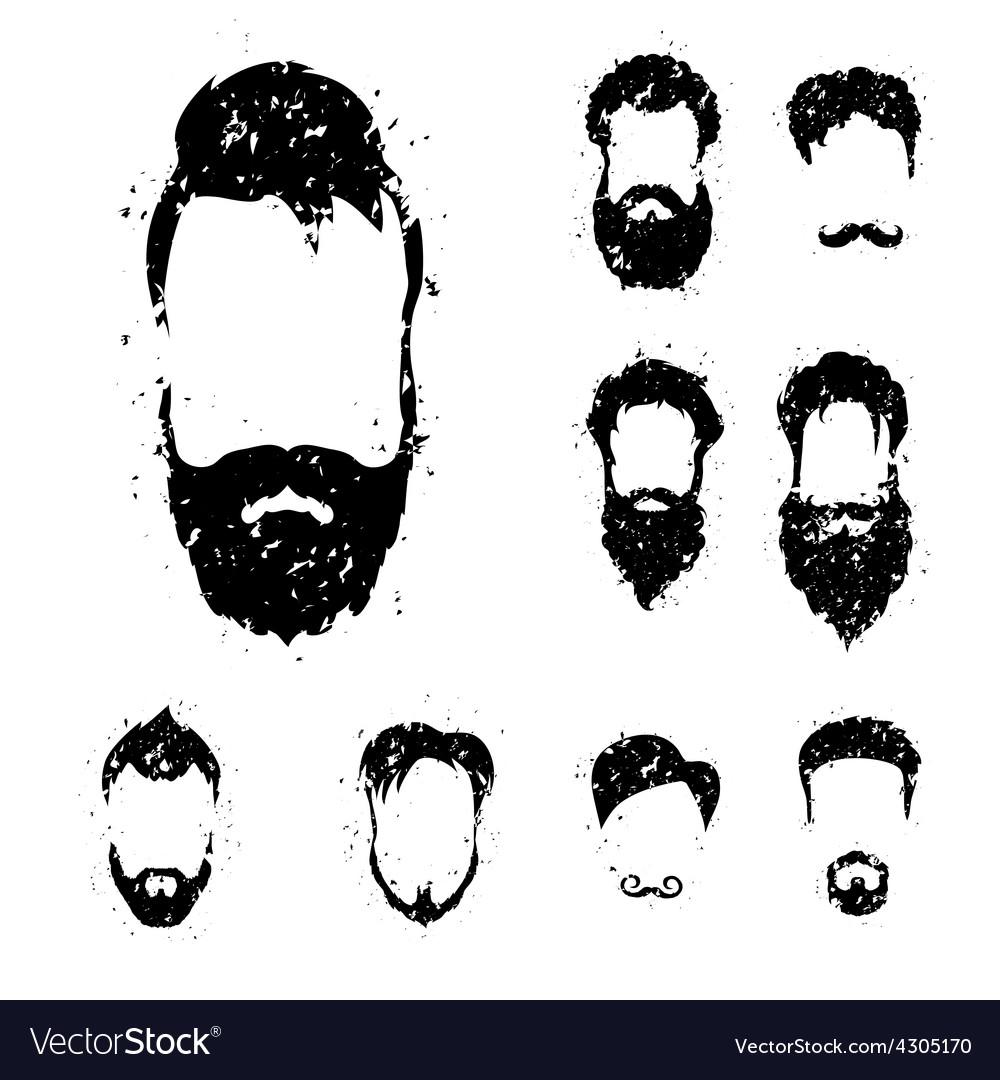Beards vector