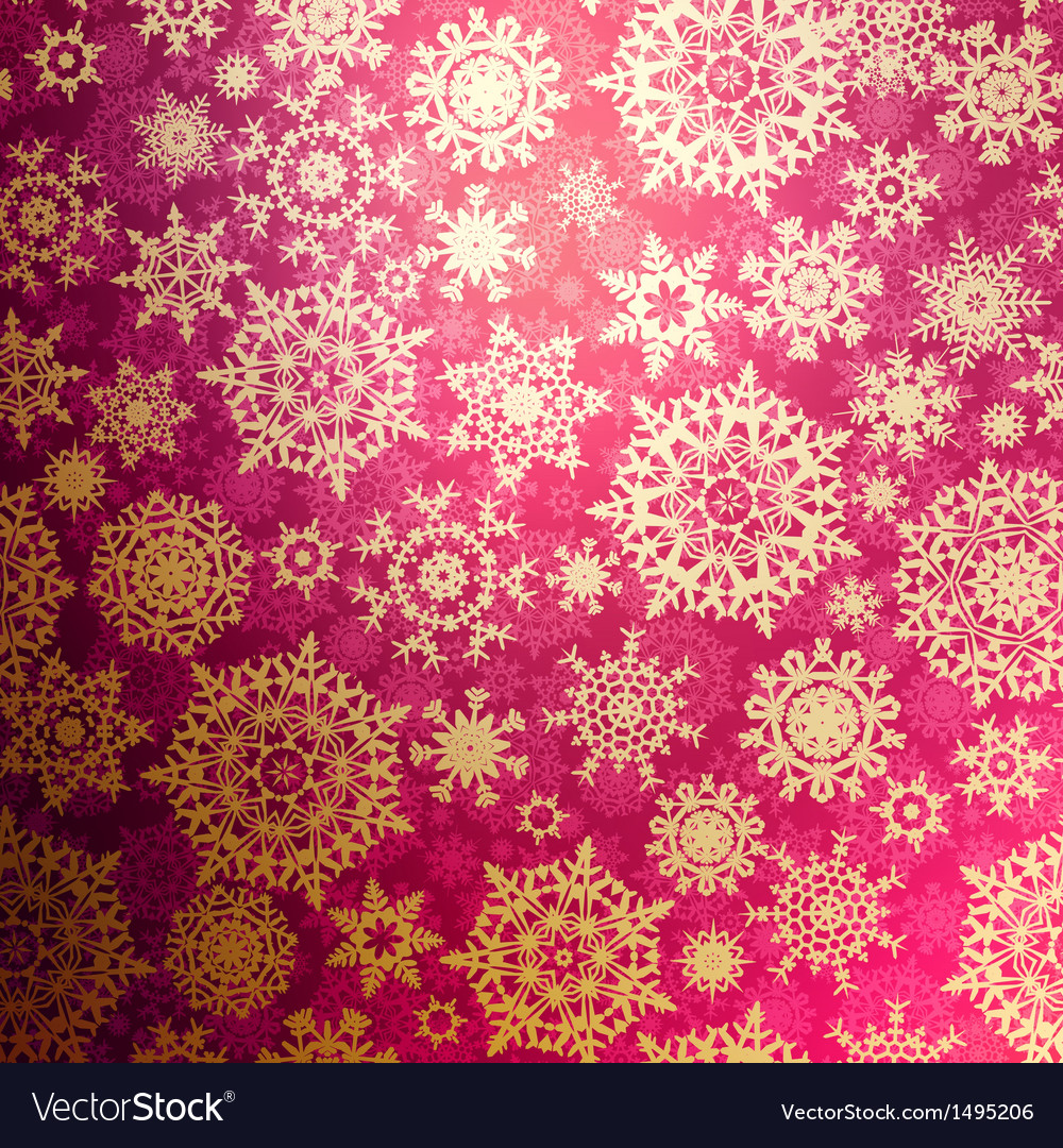 Christmas pattern snowflake background eps 8 vector