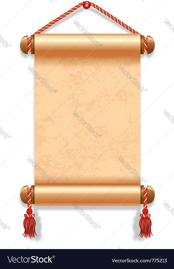 Ancient manuscript vector