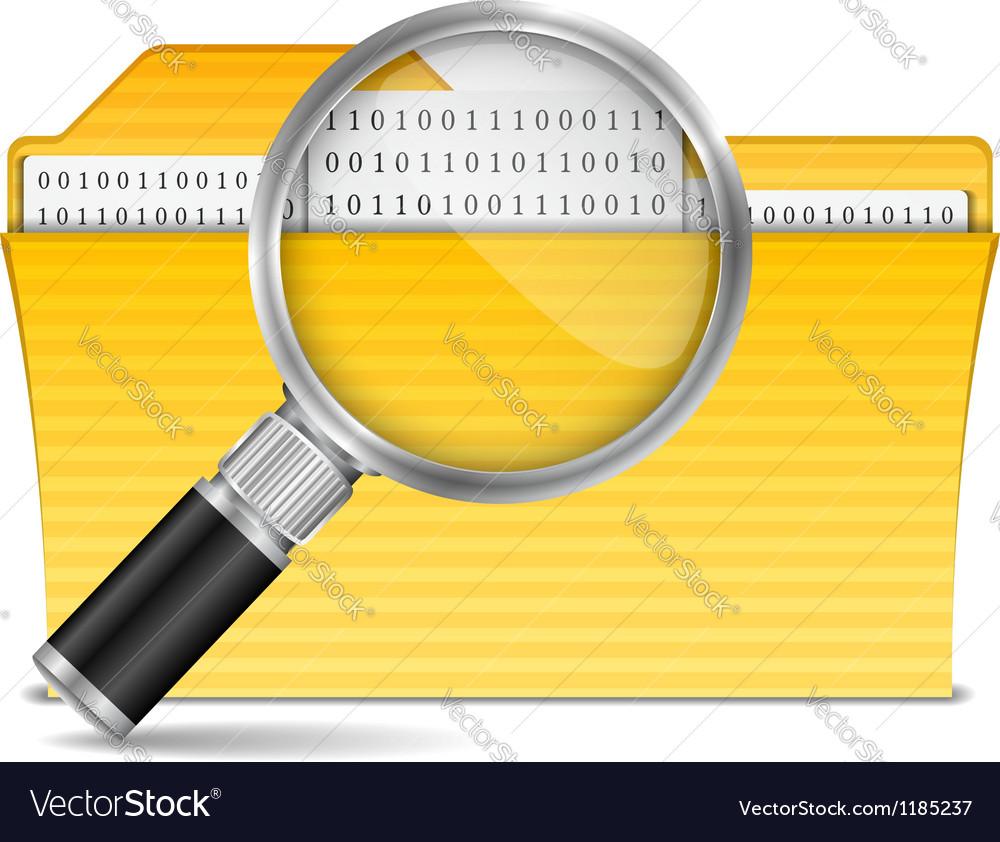 Search file vector