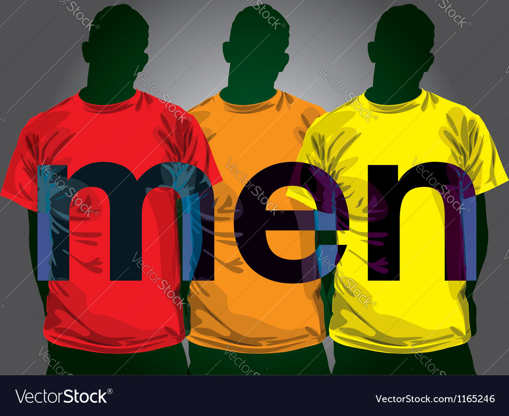 Fashion men vector